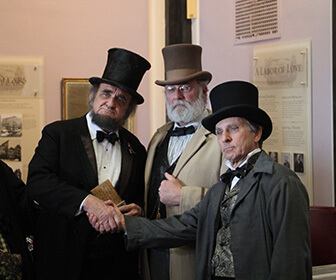 Lincoln's Birthday at the Buffalo History Museum, NY