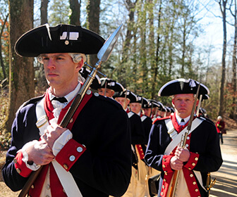 Ceremony for Presidents Day 2013, Mount Vernon, Va.